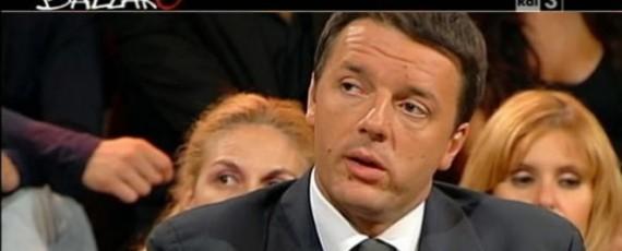 Matteo Renzi a Ballarò